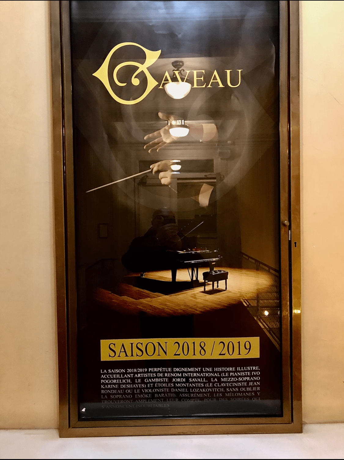 Affiche Concert Gaveau