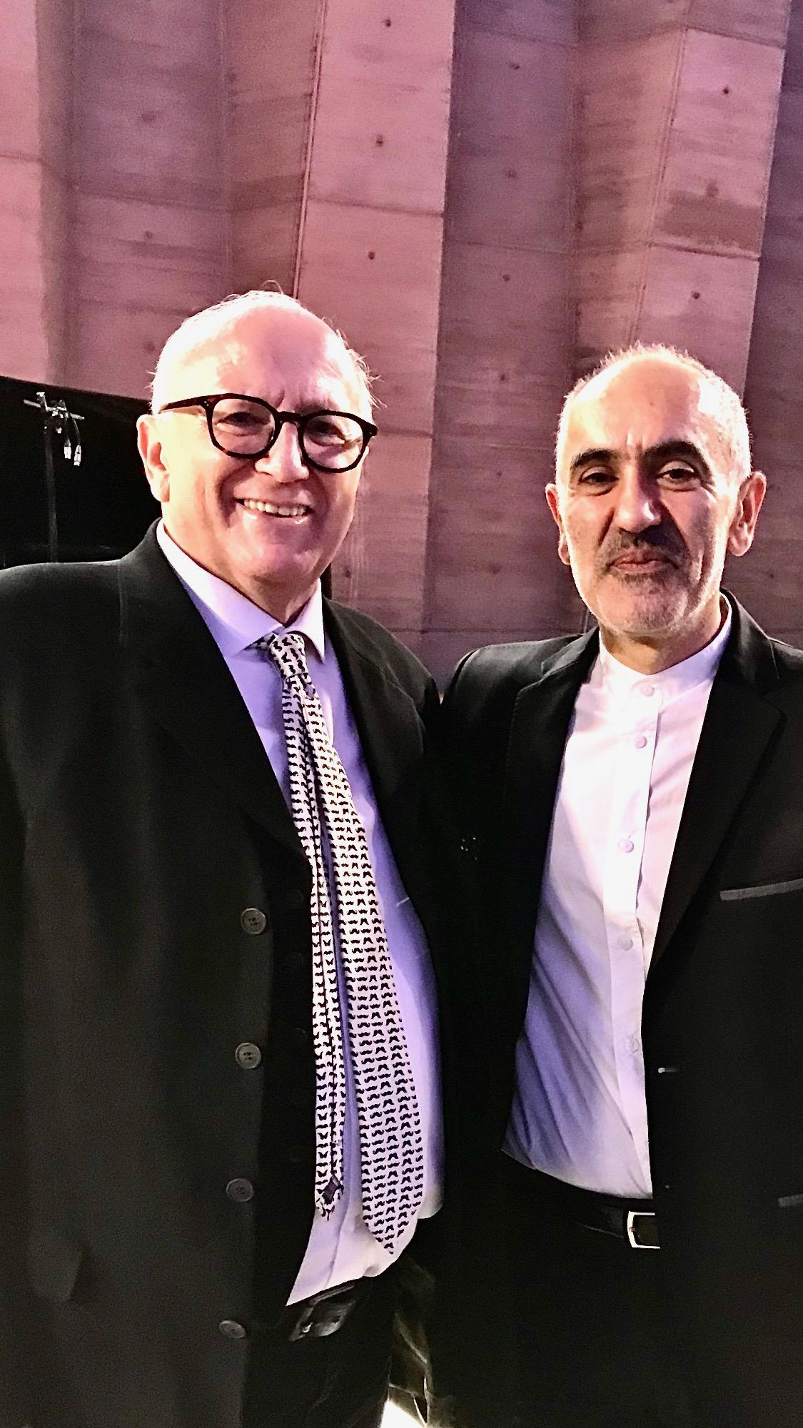 Eric Ferrer et Abdel Rahman